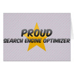 Proud Search Engine Optimizer Cards