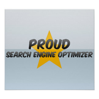 Proud Search Engine Optimizer Poster
