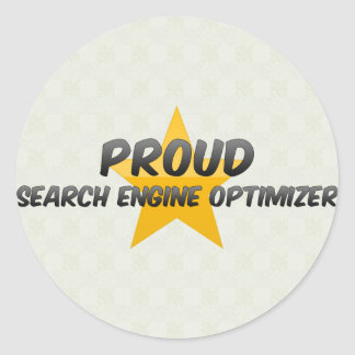 Proud Search Engine Optimizer Sticker