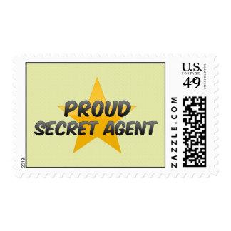 Proud Secret Agent Stamps