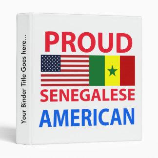 Proud Senegalese American Binder