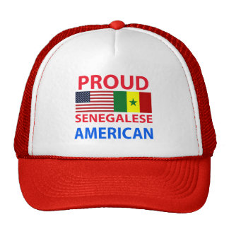 Proud Senegalese American Hats