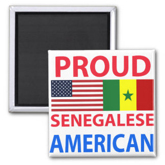 Proud Senegalese American Magnet