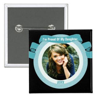 Proud Senior Photo Pinback Button