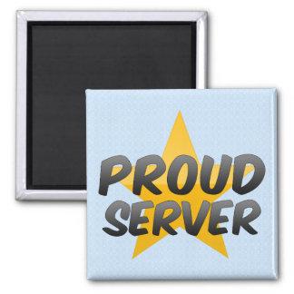 Proud Server Refrigerator Magnet