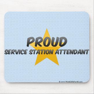 Proud Service Station Attendant Mouse Pads