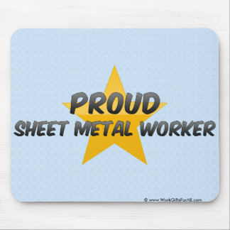 Proud Sheet Metal Worker Mouse Pad