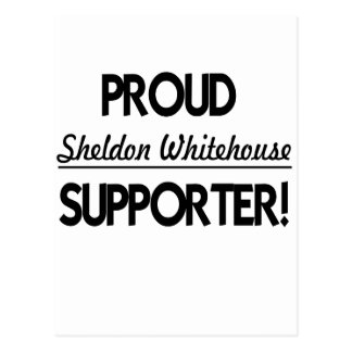 Proud Sheldon Whitehouse Supporter! Postcard