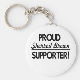 Proud Sherrod Brown Supporter! Keychain