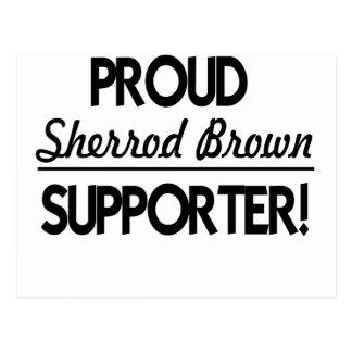 Proud Sherrod Brown Supporter! Postcard