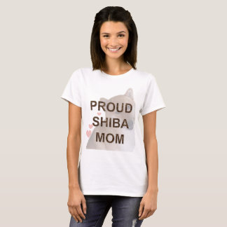 Proud Shiba Inu Mom Dog T-Shirt