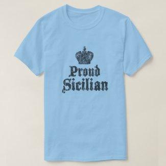 Proud Sicilian Sicily Mens T-Shirt