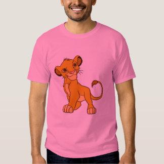 Proud Simba Disney T Shirt