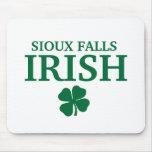 Proud SIOUX FALLS IRISH! St Patrick's Day Mouse Mat