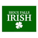 Proud SIOUX FALLS IRISH! St Patrick's Day Post Cards