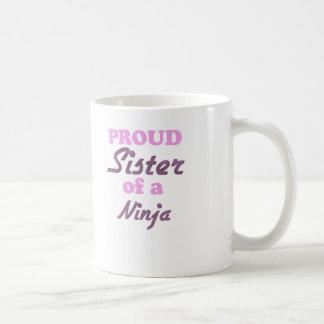 Proud Sister of a Ninja Coffee Mug