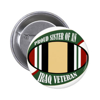 Proud Sister Pinback Button