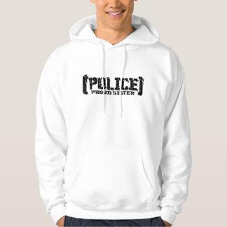 Proud Sister - POLICE Tattered Hoodie