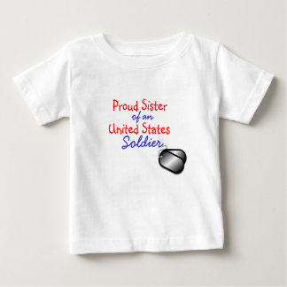 Proud Sister Soldier Tee Shirts
