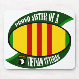 Proud Sister - Vietnam Vet Mouse Pad