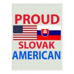 Proud Slovak American Postcard