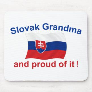 Proud Slovak Grandma Mouse Pad