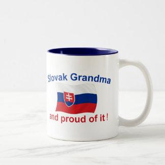 Proud Slovak Grandma Two-Tone Coffee Mug