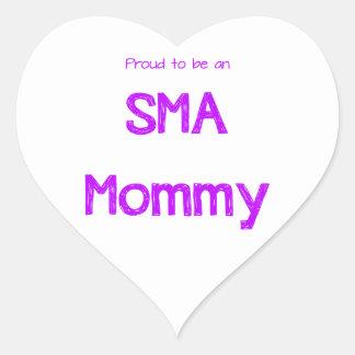 Proud SMA Mom Stickers
