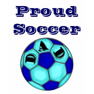 Proud Soccer Dad Fitted T-Shirt shirt