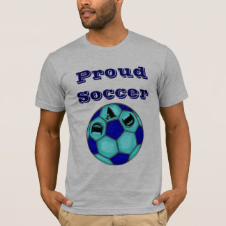 Proud Soccer Dad Fitted T-Shirt