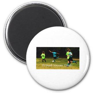 Proud Soccer Dad Magnet