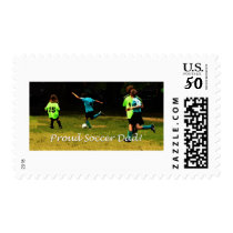 Proud Soccer Dad Postage
