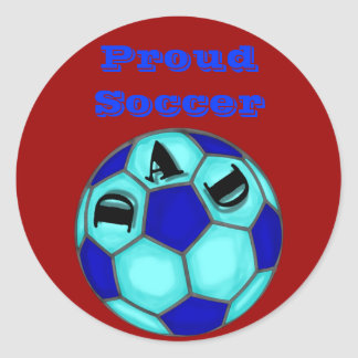 Proud Soccer Dad Stickers