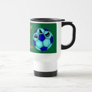 Proud Soccer Dad Traveler Mug