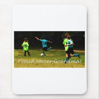 Proud Soccer Grandma Mouse Pad