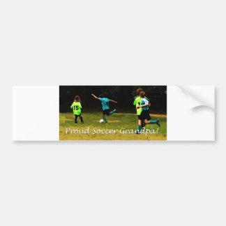 Proud Soccer Grandpa Bumper Sticker