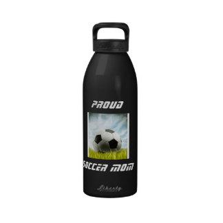 Proud Soccer Mom Liberty Bottle Water Bottle