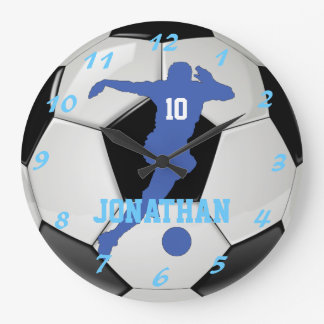 Proud Soccer Mom Personal and Customizable Clocks