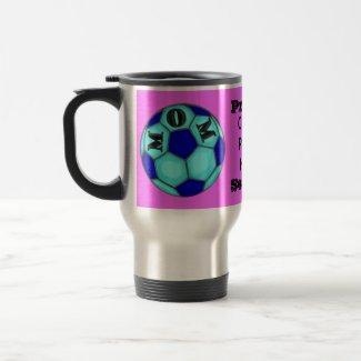 Proud Soccer Mom Traveler Mug mug
