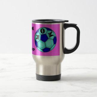 Proud Soccer Mom Traveler Mug