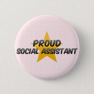 Proud Social Assistant Button