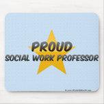 Proud Social Work Professor Mouse Pad