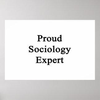 Proud Sociology Expert Print