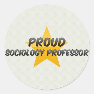 Proud Sociology Professor Sticker