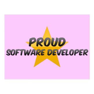 Proud Software Developer Postcard