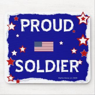 Proud Soldier - Mousepad
