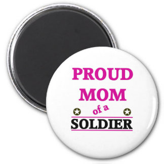 Proud Soldiers Mom Magnet
