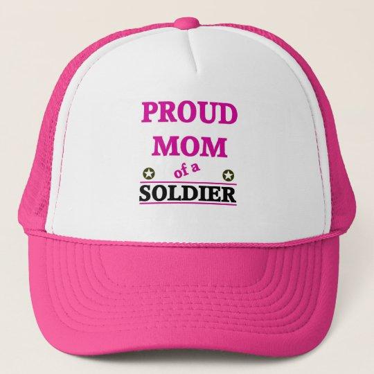 Proud Soldiers Mom Trucker Hat