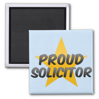 Proud Solicitor Fridge Magnets