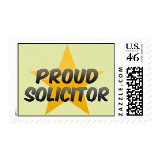 Proud Solicitor Postage Stamp